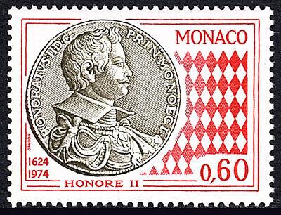 Monaco 927, MNH. Honore II Coin. 350th Anniv. Of Coins Of Monaco, 1974 - $1.00