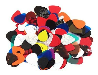 Pack of 200 Assorted Guitar Picks - 351 style  New  Free Shipping