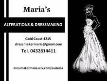 Maria's clothing alterations and dressmaking Southport Gold Coast City Preview