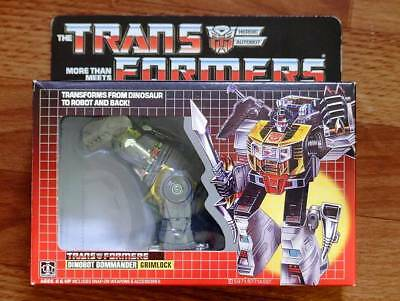 Transformers G1 grimlock reissue brand new Gift for sale  Shipping to Canada