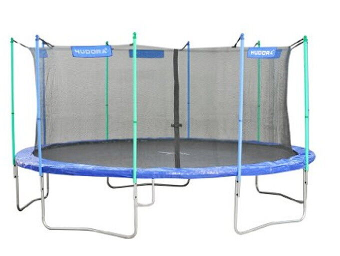 XL Hudora Trampolin Ø 480 cm inkl. Netz 150kg Fitness Sport Gartentrampolin
