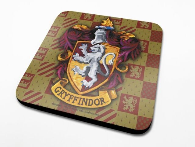 *NEW* OFFICIAL Harry Potter (Gryffindor) COASTER / DRINKS MAT BY PYRAMID CS00046