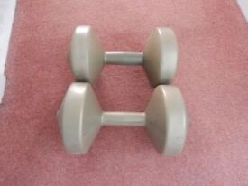 Plastic Dumbbell Weights