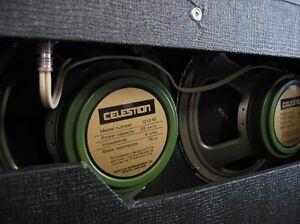 """Celestion 12""""  Greenback's"""