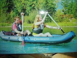 inflatable KAYAK SEVYLOR  2 p colorado boat canoe