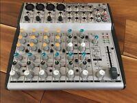Eurorack UB1202 8 channel mixing desk