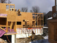 Framing Company regures new carpenter to join team