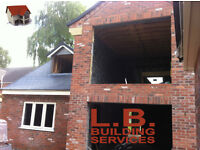 L.B Building Services Ilkeston Derbyshire for Extensions, Garage, Alterations, Re-Pointing