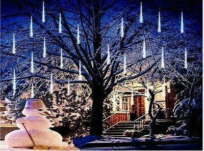 Lights,Anlising Led Meteor Shower Rain Lights 8 Tubes 136 LED - BRAND NEW!!