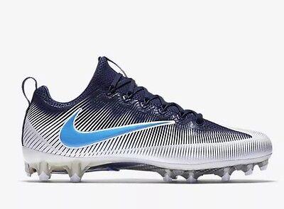 White//Navy Blue//Baby Blue Men Size 15 707455-131 Nike Vapor Untouchable TD