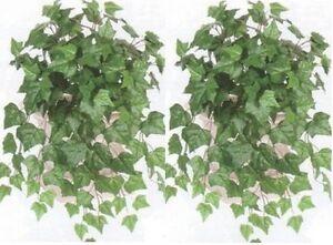 2-IVY-BUSH-ARTIFICIAL-GREENERY-PLANT-SILK