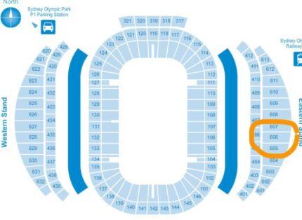 NRL grand final tickets.