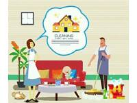 Weekly domestic cleaning services