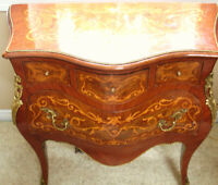 Louis Style Small Marquetry Commode