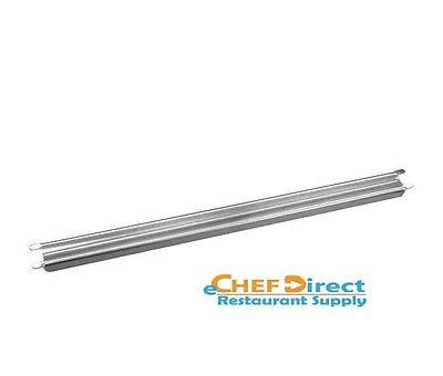New 12 Grooved Stainless Steel Steam Table Adaptor Bar