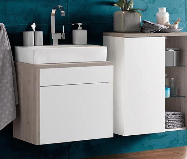 Waschbeckenunterschrank Hängeschrank Badschrank Schrank (77523)