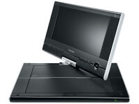 2x NEW Toshiba SDP91S 9inch Rotating Swivel LCD Widescreen Portable DVD Player + Accessories & Case