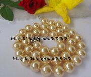 12mm Shell Pearl Necklace