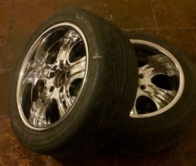 "CHEAP!!! x4 17"" Deep dish wheels & tyres!!!  Melton South Melton Area Preview"