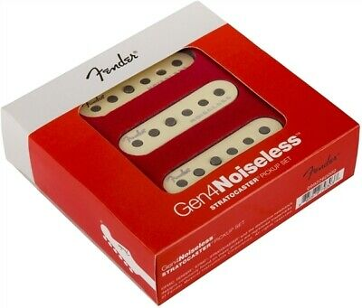 NEW Fender Gen 4 Noiseless Stratocaster Strat PICKUP SET Pickups 0992260000