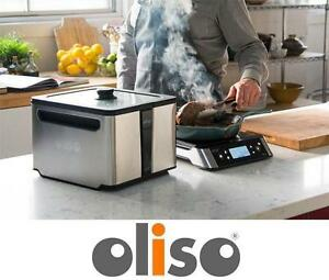 NEW OLISO SMART INDUCTION COOKTOP - 113808915 - 11 quart Sous Vide Oven Smart Hub + Top Kitchen  Dining  Small Applia...