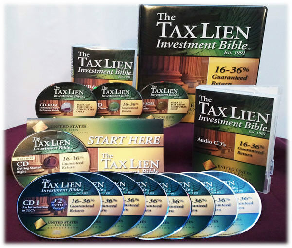 UNITED STATES TAX LIEN INVESTMENT BIBLE HOME STUDY COURSE! GET IT NOW!