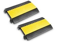 Adam Hall 85300 Midi Defender CABLE RAMP / PIPE RAMP / Cover x 2 - NEW