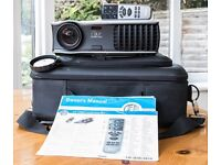 DELL 2400MP DIGITAL PROJECTOR With carry case, remote control, all relevant leads and User Manual