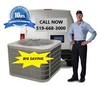 FURNACE & AC PACKAGE SPECIAL