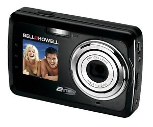 Bell+Howell 12MP 2View Digital Camera w/ Dual View LCD