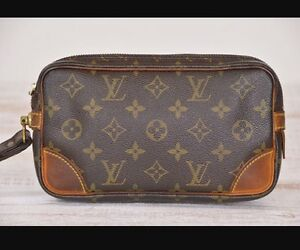 Well loved! Louis Vuitton (authentic with date stamp)  PM clutch