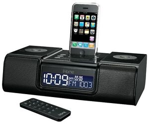 iHome Clock Radio Speaker with Dock for iPod / iPhone