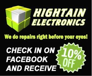 Hightain Electronics BEST PRICE ON ORIGINAL SCREENS IN RED DEER!