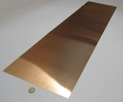 510 Phosphor Bronze Sheet .005 -.001 Thick X 12.0 Wide X 48.0 Length