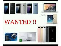 WANTED £ IPHONE 7 / PLUS IPHONE 8 8 PLUS 6S SAMSUNG GALAXY NOTE 8 S8 S8+ S7 EDGE A5 J5 LG G6 PS4 PRO