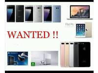WANTED £ IPHONE 7 / PLUS IPHONE 8 8 PLUS 6S SAMSUNG GALAXY NOTE 8 S8 S8+ IPHONE 6 S7 EDGE A5 J5 PS4