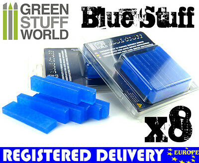 Blue Stuff 8Bars - Make reusables instant molds - Warhammer 40K OOAK Doll Reborn