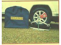 Two Milenco Aluminium levellers for a Caravan