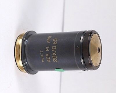 Leica Pl Apo 20x .65 0.17 M25 Infinity Microscope Objective