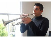 Trumpet lessons for beginners/improvers, all ages.
