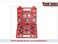 TM US PRO 18pc Brake Caliper Push Back and Wind Back Tool Kit TM112