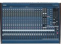 yamaha mg24/14fx,high quality mixer,24 channels,vgc,over £1200 when new