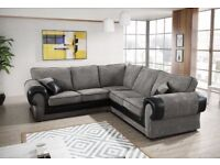 New SCS Ashley corner sofa WITH FREE FOOTSTOOL