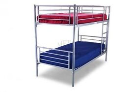 BRAND NEW CONVERTIBLE METAL BUNK BEDS *** We SELL Quality not Quantity ***