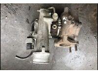 Turbocharger Mazda CX-7 (FT) 2.3 MZR Disi Turbo AWD