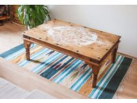 Wooden table / wood furniture / coffee table / good quality wood / table design / bespoke furniture