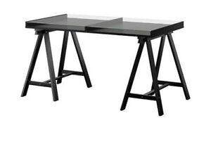 IKEA Tempered Glass Top Desk