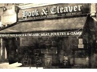 Full-time experienced butcher required for busy catering and shop role