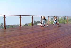 Maintenance free Hardwood Decking for sale from $5