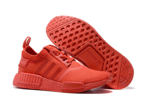 Adidas nmd R1 solar red in size 9 and 9.5